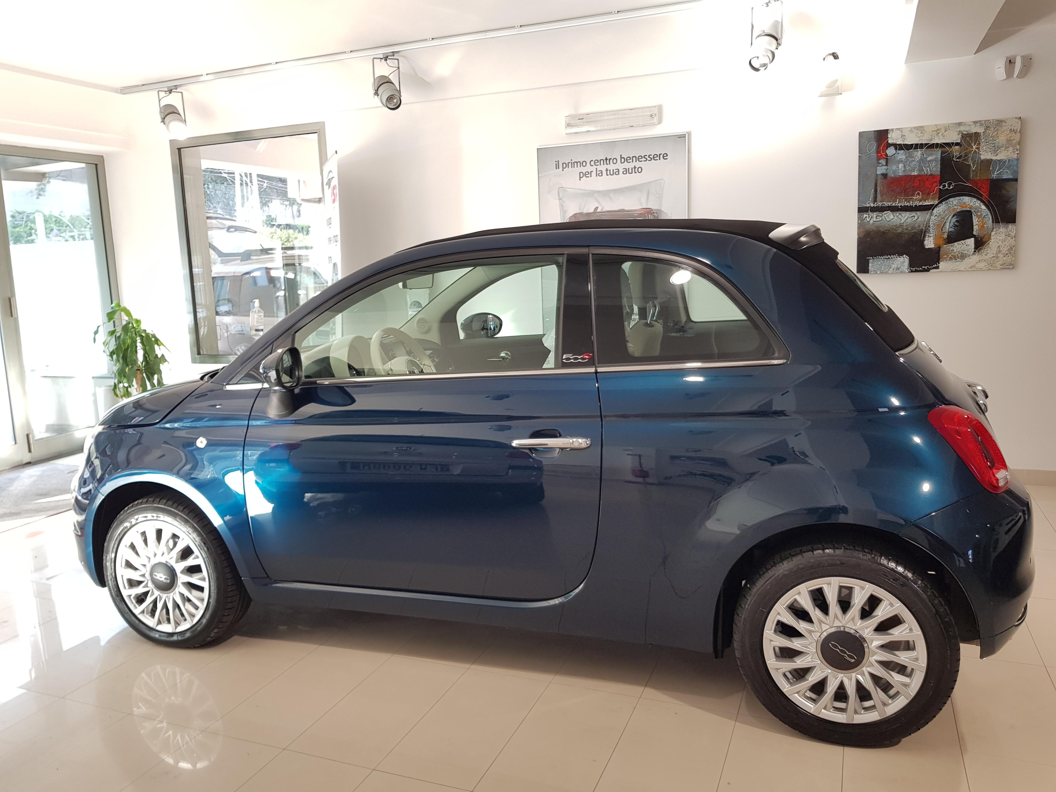 FIAT 500 CABRIO 1.2 69 CV LOUNGE